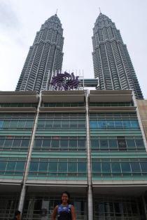 Kuala Lumpur's claim to fame- the Petronas Towers