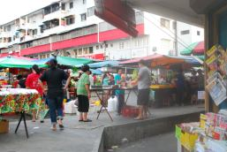 Street wet market at 7 am. So many yummy smells and sights