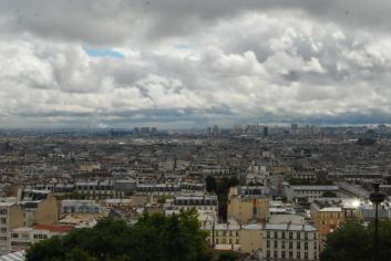 View of the city from Sacre Coure