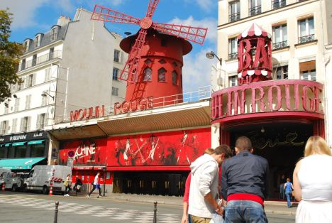 You guessed it- the famed Moulin Rouge