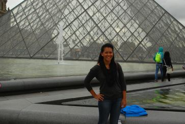 The pyramid at the Louvre!