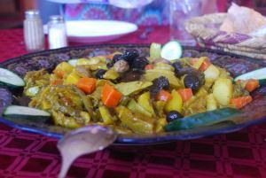 Cooked veggie medley starter salad