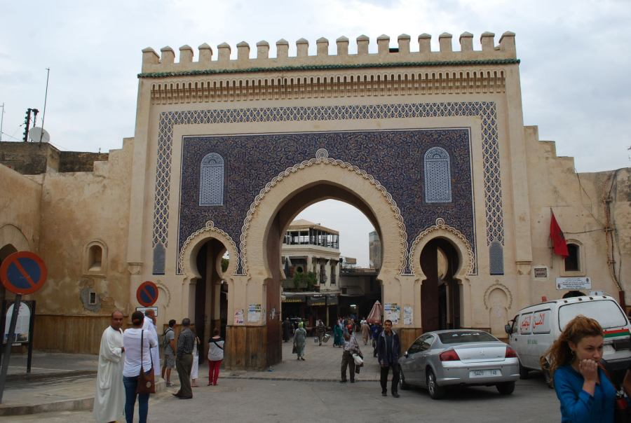 The Blue Gate, in Fes